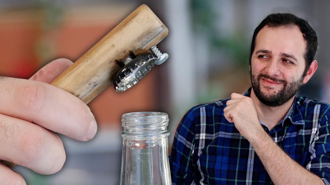how to make a homemade bottle opener