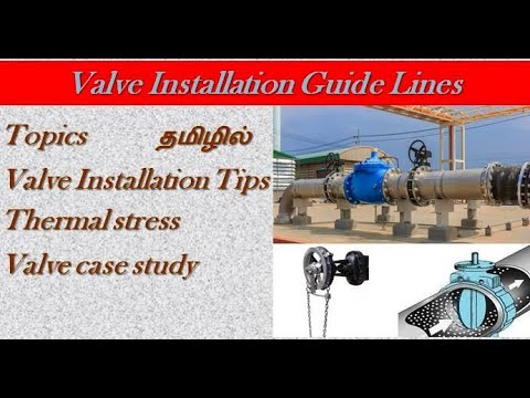 Valve installation Tips/Shutdown/Maintenance/Valve/Foreman/Fitter/Engineer/Valve installation/Tamil