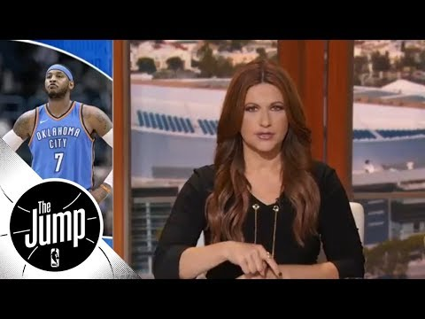 Rachel Nichols: Carmelo Anthony and Dwyane Wade should decide their own endings  The Jump  ESPN