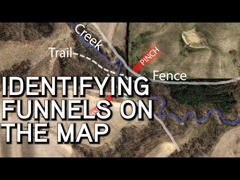 Identifying Funnels On The Map | Using Maps To Scout And Find Great Stand Locations
