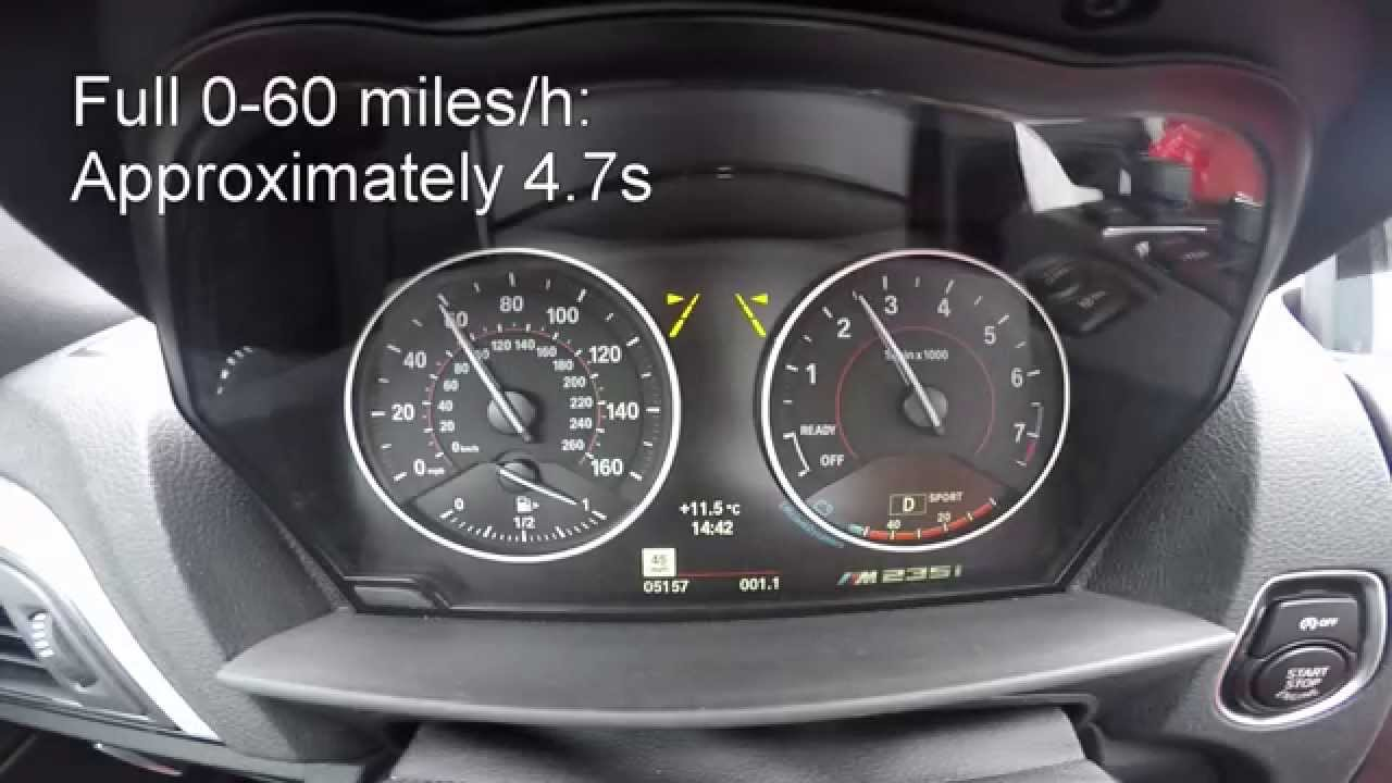 2015 bmw m235i with jb4 stage2 0 60 mph miles h acceleration youtube. Black Bedroom Furniture Sets. Home Design Ideas