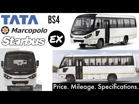 Tata Marcopolo Starbus EX Bs4 | Price Mileage Specifications | 24 32 36  Seater