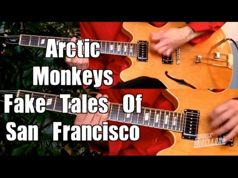 Fake Tales Of San Francisco  Arctic Monkeys   Guitar Tab Tutorial &