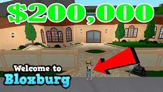 I BUY NEW HOUSE 200K ROBLOX BLOXBURG | HOUSE TOUR | FAMBAM GAMING