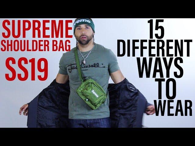 15 WAYS TO WEAR SUPREME SS19 SHOULDER BAG