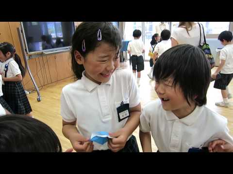 Let's visit a Japanese Elementary School!!