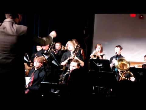 Merrimack Valley High School 2013 Autumn Concert - Jazz Band - Hogwart Stomp - Robert Woods