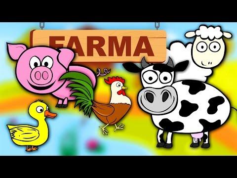 Zwierzęta dla dzieci na wsi - Odgłosy zwierząt | CzyWieszJak