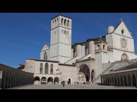 Assisi. Perugia. Italy in 4K