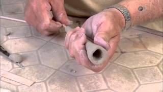 Как делают глиняные трубки