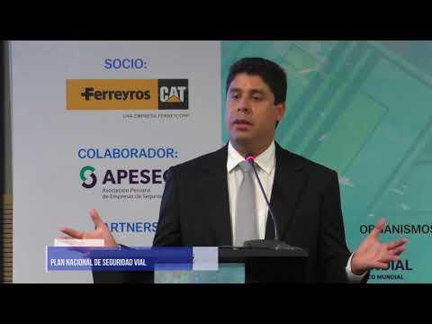Conferencia N° 01 | Omar Revolledo| Plan Estratégico Nacional De Seguridad Vial Del Perú