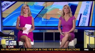Ainsley Earhardt & Heather Childers 08-07-14