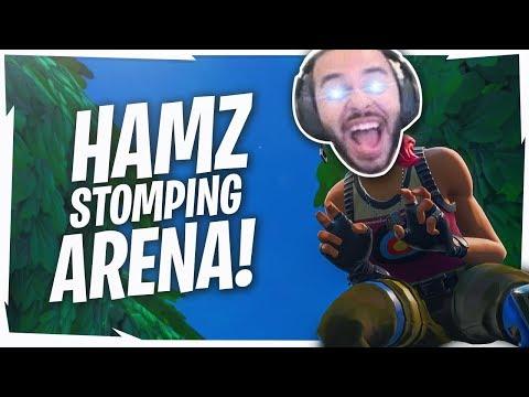 Hamlinz STOMPS Arena Solos! HIGH KILL FUNNY GAME
