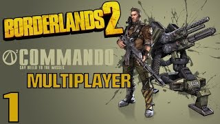 Borderlands 2 Multiplayer Gameplay / Let