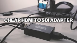 Liqoo HDMI to SDI Converter Review & Unboxing