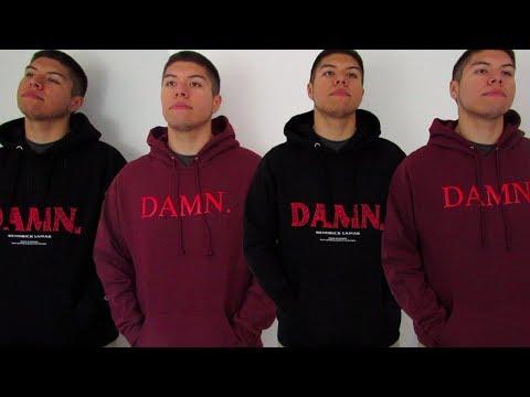 Kendrick Lamar - Kung Fu Kenny / DAMN Hoodie Review