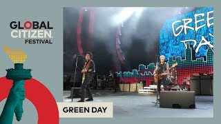 Green Day Perform 'Basket Case' | Global Citizen Festival NYC 2017