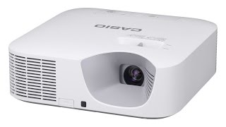 Casio Laser/LED Hybrid Gaming Projector - Series XJ-V100W - 3000 Lumens - 20,000 hours
