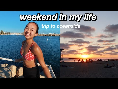 weekend in my life   trip to oceanside! Nicole Laeno