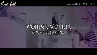 WONDER WOMAN | BROWN EYED GIRLS | COVER ESPAÑOL