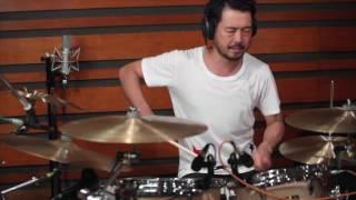 第15回誌上ドラム・コンテスト 課題曲デモ演奏@柏倉隆史【ダイジェスト版】
