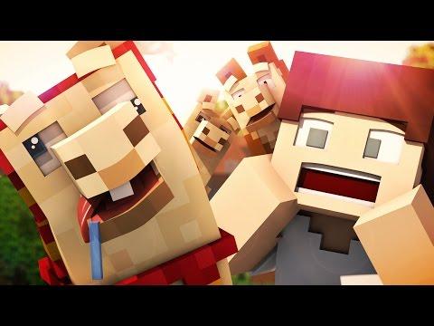 DERPY LLAMAS (Minecraft Animation)