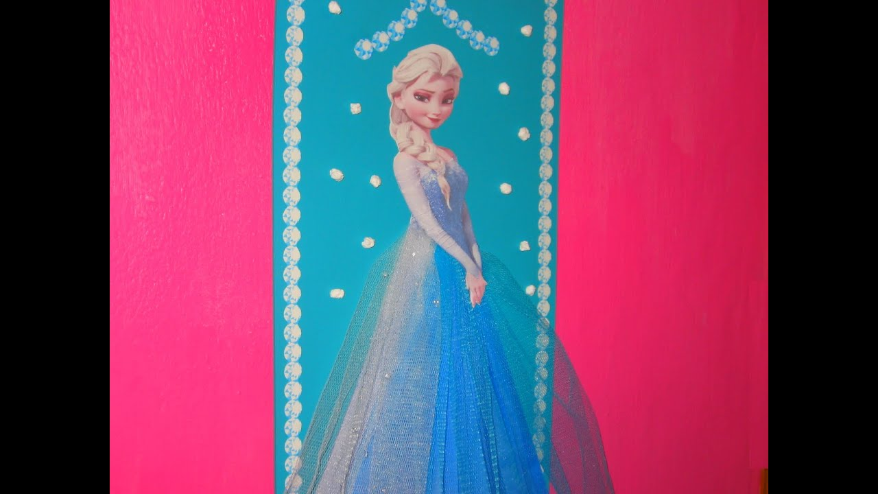 Frozen cuadro para cuarto de ni as decoraci n for Cuartos para ninas frozen