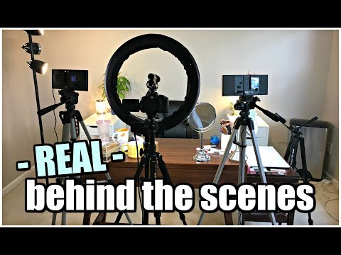 Behind the Scenes   What My Filming Room is Actually Like - Duur: 7:51.