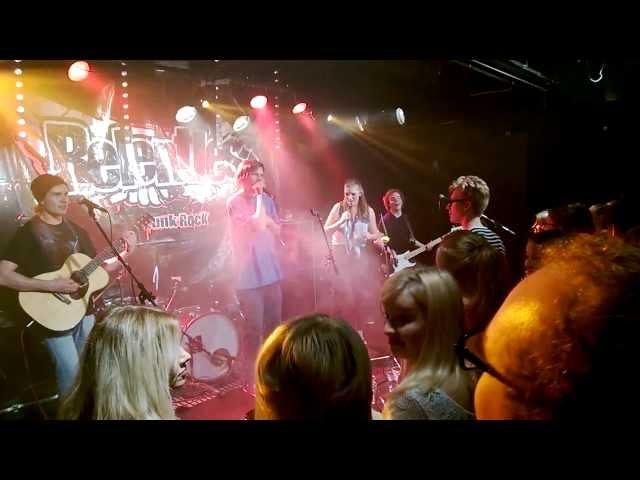 SiCi & the Boogie Brothers - Cowboys From Hell(Pantera)  @ OFS2013 club, Ilokivi Jyväskylä