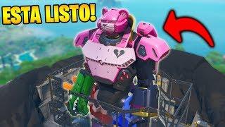 *NUEVO EVENTO* APARECE el ROBOT COMPLETO!! FORTNITE 🤖😱