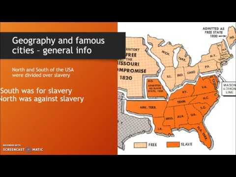 United States of America - Paragraph 1: Geography and Famous Cities
