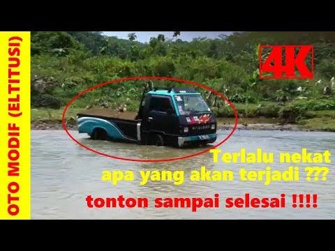 Modifikasi Mobil Pick Up L300 Si Hitam Pekat ~ Owner @bokly21