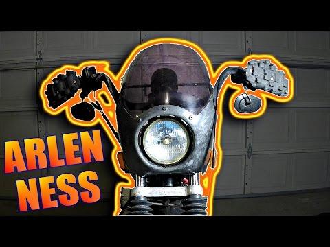 CHEAP DIY Arlen Ness Fairing Mounts + Installation On Sportster