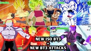 NEW DBZ TTT MOD ISO ULTIMATE TENKAICHI & BT3 STYLE WITH NEW BT3 ATTACKS DOWNLOAD