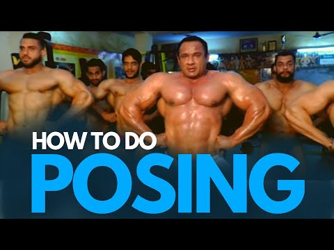 How to do POSING?