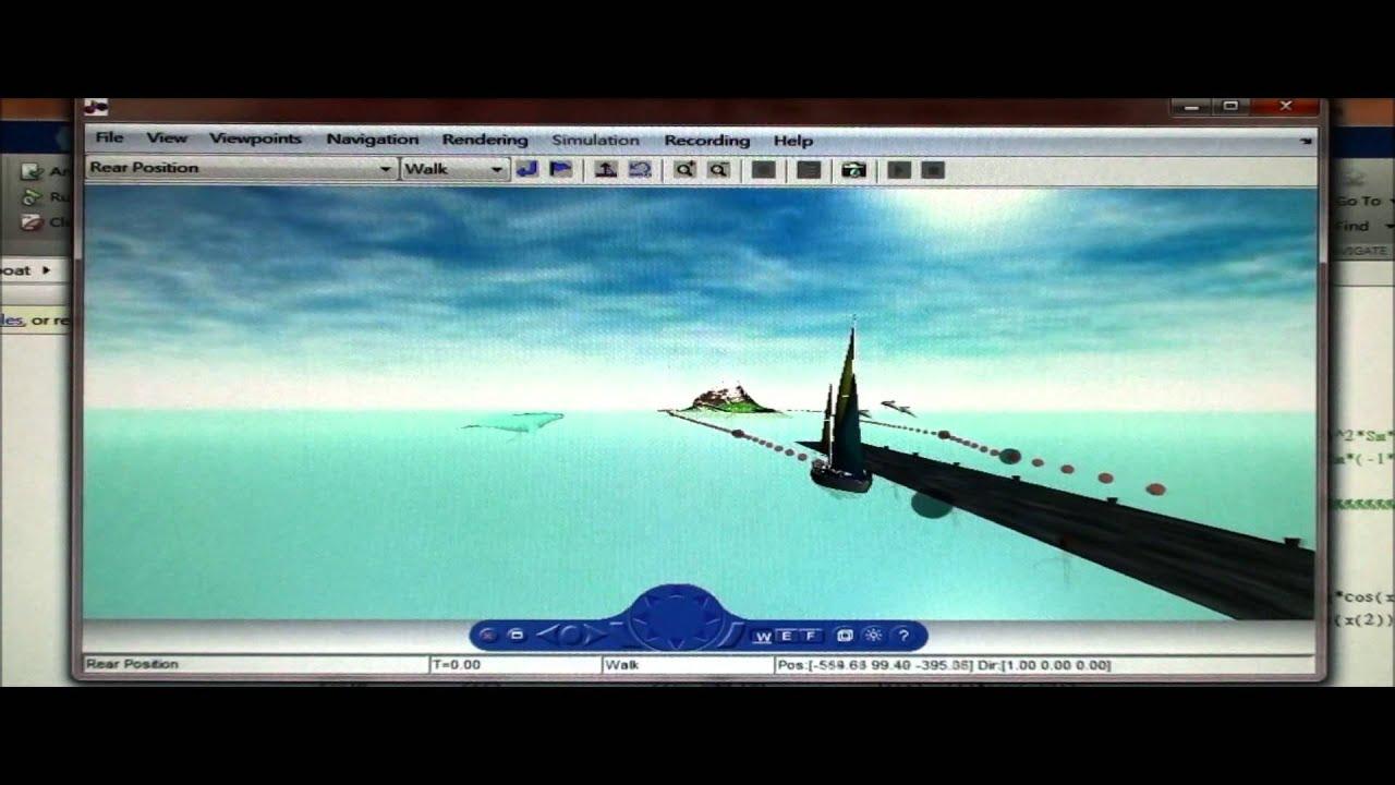 Virtual reality modeling language (vrml) matlab & simulink.