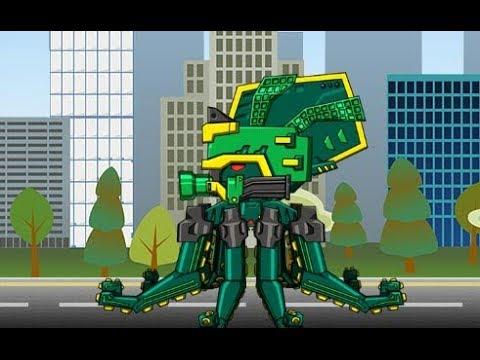 Роботы динозавры: Древний осьминог (Ancient Octopus Dino Robot)