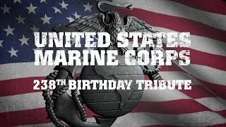 United States Marine Corps 238th Birthday Tribute 2013