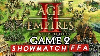 Age of Empires II FFA : Game 2 (ShowMatch 2000€ Cash prize)