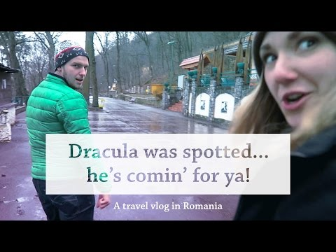 Dracula was spotted... he's comin' for ya! - A travel vlog in Romania