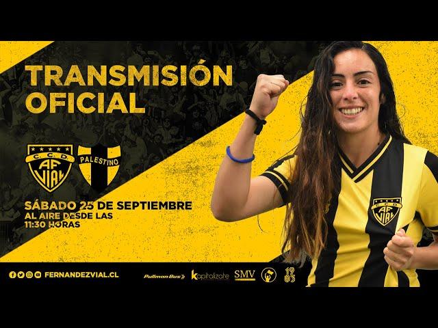 Futbol Femenino Cuartos de Final : Fernández Vial vs Palestino.