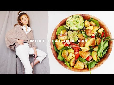 WHAT I EAT IN A DAY | vegan & intermittent fasting