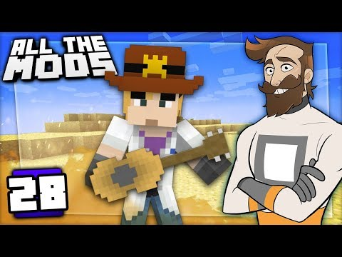 Minecraft All The Mods #28 - COWBOY WIZARD thumbnail