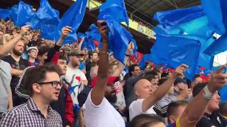 CRYSTAL PALACE FANS DISPLAY VS HUDDERSFIELD | INSIDE THE DISPLAY