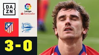 Antoine Griezmann und Co. siegen im Top-Spiel: Atletico Madrid - Alaves 3:0 | LaLiga | Highlights