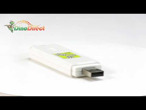 2 in 1 Bluetooth WiFi USB Wireless Lan Network Adapter  from Dinodirect.com