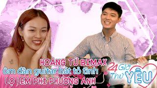 Hoàng tử Bi Max ôm đàn guitar hát tỏ tình lọ lem Phí Phương Anh với nến và hoa siêu lãng mạn 😍