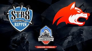 Halo - Str8 Rippin vs. Denial - Halo Championship Series - Season 1 - Quarterfinal