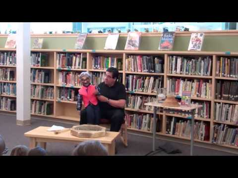 Tlingit Ventriloquist Carlton Smith & Charlie
