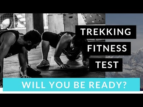 Everest base camp trek fitness training